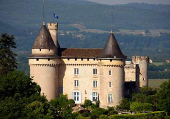 Château de Mercuès, France--has stood guard over the Lot Valley since the 100 Years' War.