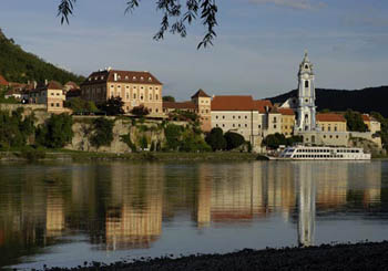 Hotel Schloss Dürnstein, Austria--arrive stylishly by boat on the beautiful Danube.