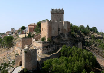 Parador de Alarcón, Spain--a fantastic 1,000-year-old Moorish castle.