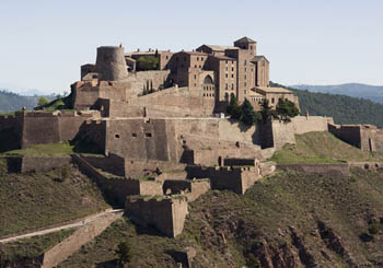 Parador de Cardona, Spain--a 9th-century fortress only a day's drive from Barcelona.
