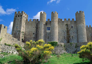 Pousada de Óbidos, Portugal--a royal castle in one of Portugal's most charming towns.