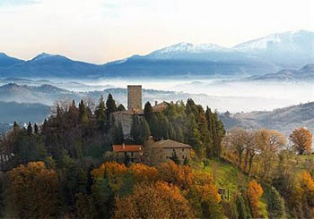 Castello di Petroia, Italy--enter a medieval world above an Umbrian hilltop village.