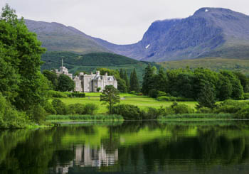 Inverlochy Castle, Scotland--privacy guaranteed in the shadow of Ben Nevis.
