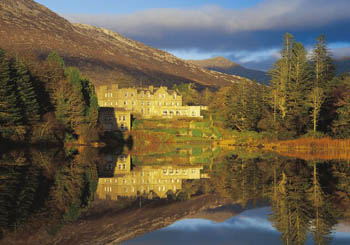Ballynahinch Castle, Ireland--learn to fly fish in the heart of magical Connemara.